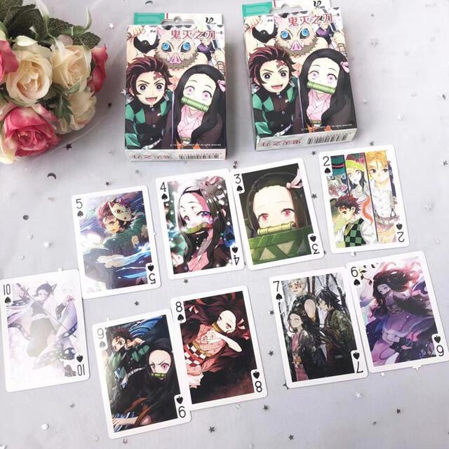 鬼滅の刃 トランプ エンタメ/ホビーのテーブルゲーム/ホビー(トランプ/UNO)の商品写真