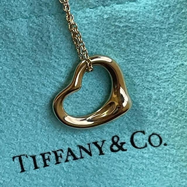 Tiffany & Co.(ティファニー)のTIFFANY&Co. オープンハートネックレス   レディースのアクセサリー(ネックレス)の商品写真