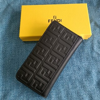 FENDI - メンズ長財布❣fendi  小銭入れ 黒