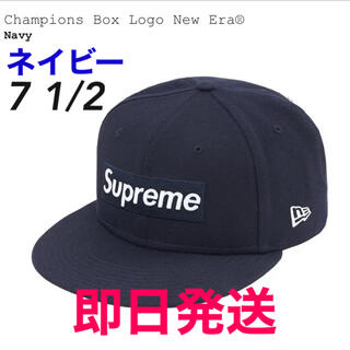 Supreme - シュプリーム ニューエラ チャンピオンズ ボックス ロゴ キャップ 7 1/2