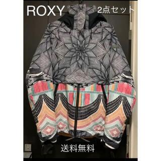 ロキシー(Roxy)の【送料無料】スノーボード ROXY ウエア 上下2点セット☆耐水圧15000(ウエア/装備)