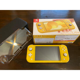 Nintendo Switch - 美品 Nintendo Switch Lite イエロー