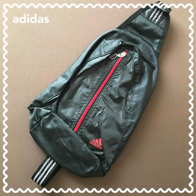 adidas(アディダス)の《マリア様専用》未使用【adidas】アディダス ワンショルダーバッグ(軽量)① メンズのバッグ(ショルダーバッグ)の商品写真