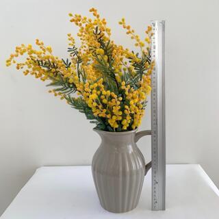 ミモザ 造花 丈約45cm  6本セット