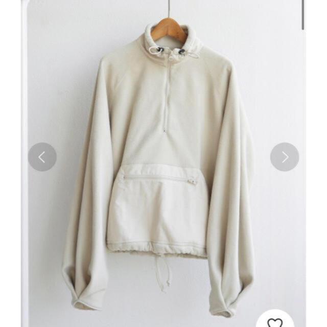 TODAYFUL(トゥデイフル)の美品  トゥデイフル  フリースアノラックブルゾン 定価16500 36 レディースのジャケット/アウター(ブルゾン)の商品写真