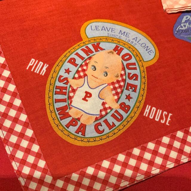 PINK HOUSE(ピンクハウス)のピンクハウスラベルQPハンカチ レディースのファッション小物(ハンカチ)の商品写真