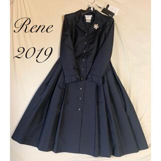 ルネ(René)の新品未使用 Rene♡ 2019年 イタリー製ネイビースプリングコート(スプリングコート)