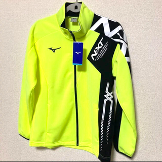 【新品】ミズノ  mizuno  メンズ ジャケット ウエア 黒×黄 Sサイズ