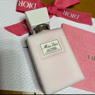 Christian Dior - ミス ディオール ボディ ミルク 75mL 新品未使用