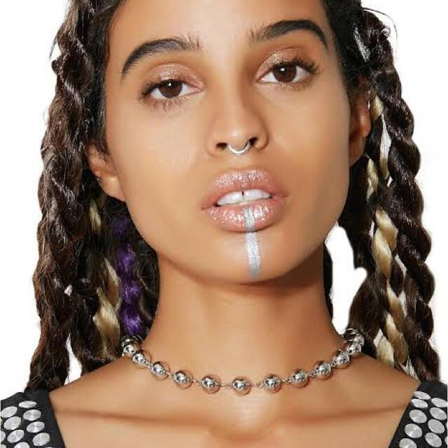 AMBUSH(アンブッシュ)のAMBUSH風 ビッグサイズボールチェーンネックレス メンズのアクセサリー(ネックレス)の商品写真