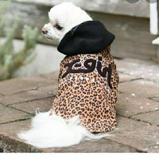 エックスガール(X-girl)のxgirl 犬服 ドッグウェア ヒョウ柄 2L(犬)