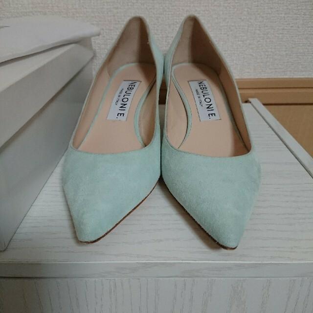 DEUXIEME CLASSE(ドゥーズィエムクラス)のネブローニ NEBULONIE スエードパンプス レディースの靴/シューズ(ハイヒール/パンプス)の商品写真