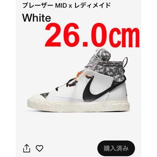 NIKE - READYMADE × NIKE BLAZER MID 白 WHITE
