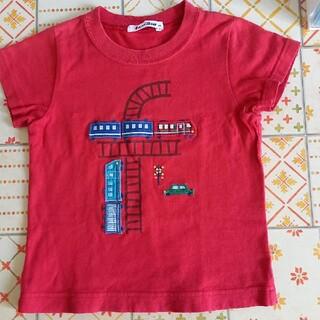 familiar - ファミリア Tシャツ100 乗り物 電車