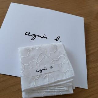 agnes b. - 新品 アニエスベー ミニ ハンカチ ハート