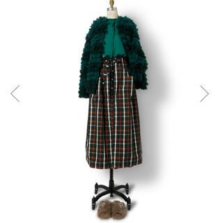 Drawer - drawer  チェック ロングスカート