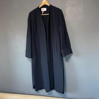 エンフォルド(ENFOLD)のENFOLD エンフォルド ノーカラーコート コート ロングコート(ロングコート)