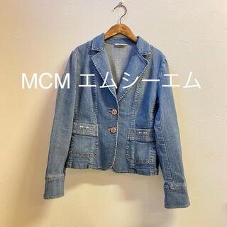 MCM - MCM エムシーエム【L】デニム デニムジャケット ストレッチ