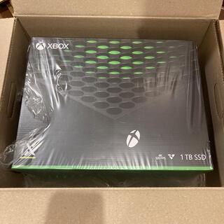 エックスボックス(Xbox)のXbox Series X 本体(家庭用ゲーム機本体)