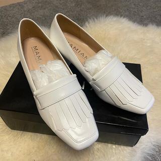 マミアン(MAMIAN)のMamian ローファー パンプス  キルト付き  (5.5cmヒール)(ローファー/革靴)
