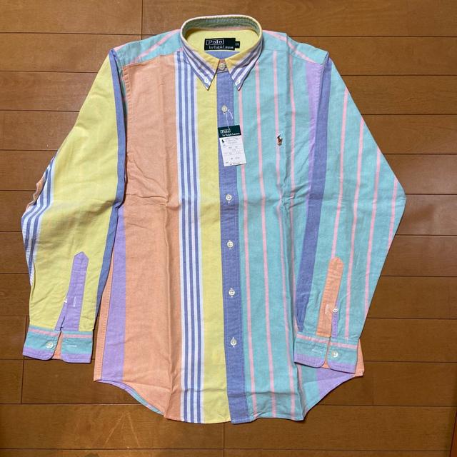 POLO RALPH LAUREN(ポロラルフローレン)の新品 ラルフローレン ワイシャツ&ポロシャツ 160.170cm キッズ/ベビー/マタニティのキッズ服男の子用(90cm~)(Tシャツ/カットソー)の商品写真
