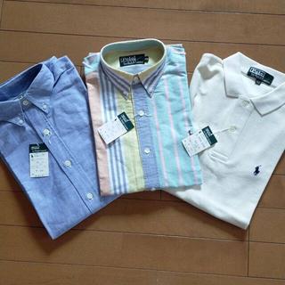 POLO RALPH LAUREN - 新品 ラルフローレン ワイシャツ&ポロシャツ 160.170cm