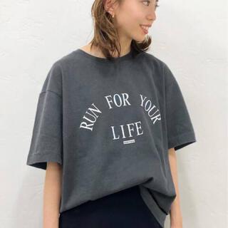 DEUXIEME CLASSE - Deuxieme Classe 【アメリカーナ】 LIFE Tシャツ