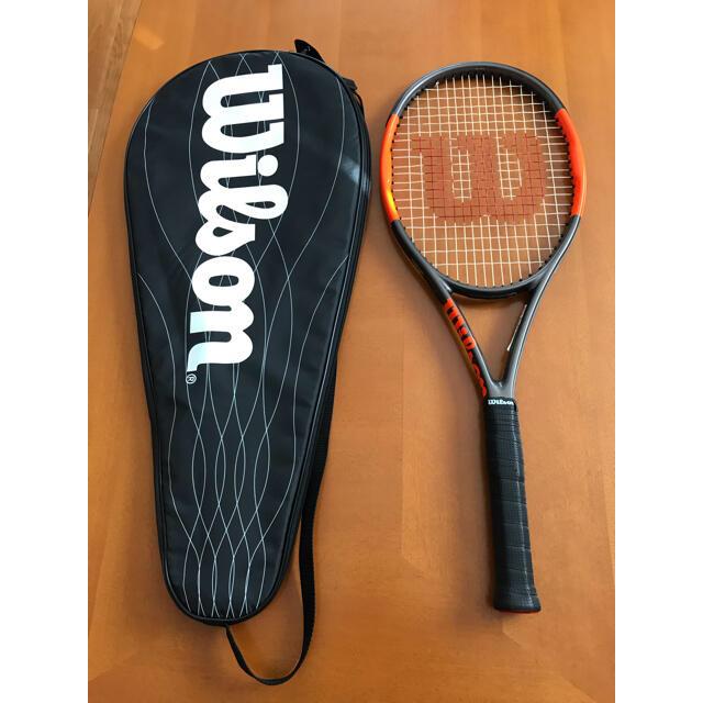 wilson(ウィルソン)のテニスラケット Wilson BURN95  スポーツ/アウトドアのテニス(ラケット)の商品写真