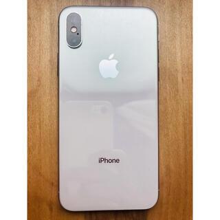 アイフォーン(iPhone)のiPhone xs  silver 256GB  SIMフリー(スマートフォン本体)