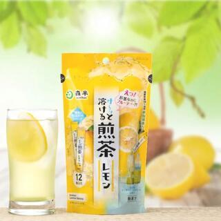 森半 サーッと溶ける 煎茶レモン スティック12P(粉末)2袋🈹(茶)