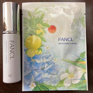 FANCL - ファンケル ホワイトニングエッセンス マスク