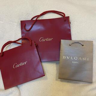 Cartier - カルティエ ブルガリ◇ショッパー ショップ袋  紙袋