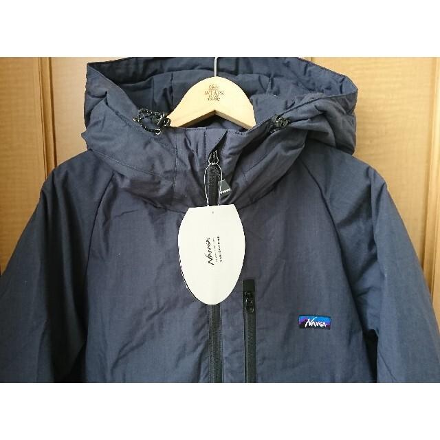 NANGA(ナンガ)の新品 NANGA ナンガ オレンジ 別注モデル 焚火 ダウンジャケット ダークネ メンズのジャケット/アウター(ダウンジャケット)の商品写真