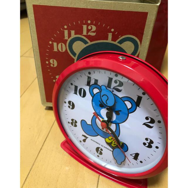 HYSTERIC GLAMOUR(ヒステリックグラマー)のHYSTERIC GLAMOUR  ヒステリックグラマー ノベルティ 時計 エンタメ/ホビーのコレクション(ノベルティグッズ)の商品写真