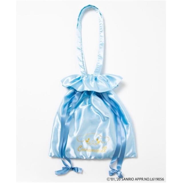 Maison de FLEUR(メゾンドフルール)のシナモン、サテン、トートバッグ レディースのバッグ(トートバッグ)の商品写真