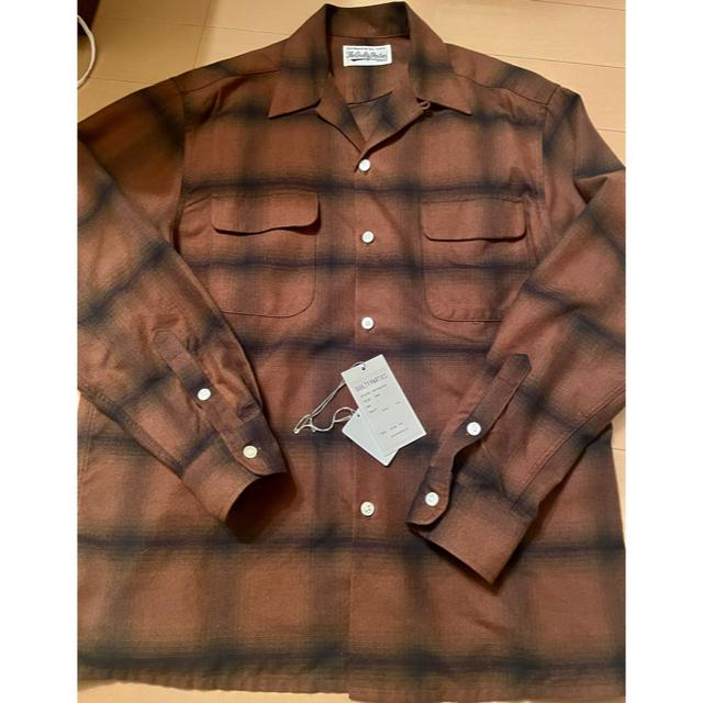 WACKO MARIA(ワコマリア)のワコマリア OMBRAY CHECK OPEN COLLAR SHIRT シャツ メンズのトップス(シャツ)の商品写真