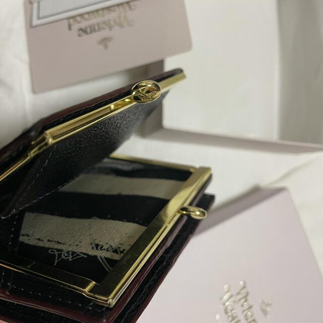 Vivienne Westwood(ヴィヴィアンウエストウッド)のヴィヴィアン 2つ折りミニ財布 正規品  レディースのファッション小物(財布)の商品写真