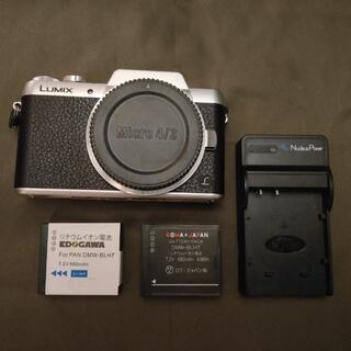 Panasonic - DMC-GF7ボディ 互換バッテリー2個、充電器付属