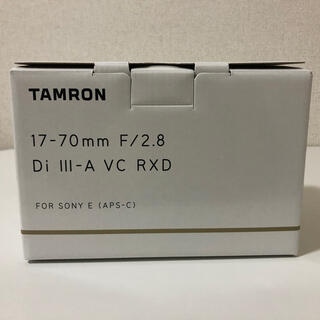 TAMRON - 【新品未開封】TAMRON タムロン 17-70mm F/2.8