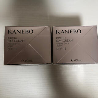 Kanebo - KANEBO カネボウ フレッシュ デイ クリーム 40ml 2個セット