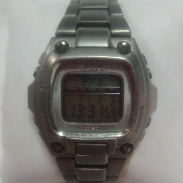 G-SHOCK(ジーショック)の廃盤品~Gショック チタン デジタル 時計1673 MRG-210T  メンズの時計(腕時計(デジタル))の商品写真