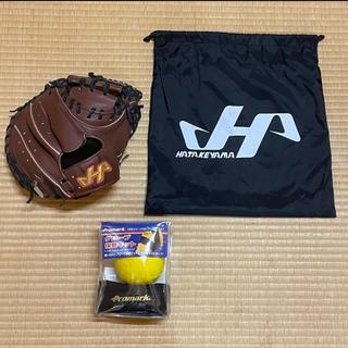 ハタケヤマ(HATAKEYAMA)のハタケヤマ 硬式キャッチャーミット 型付け済 高校野球対応(グローブ)