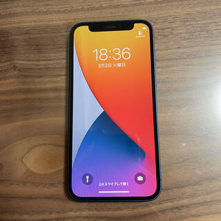 iphone12mini ブルー 64GB