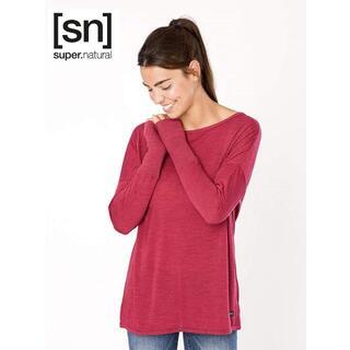 sn エスエヌ スーパーナチュラル レディース トラベルルーズ Tシャツ S