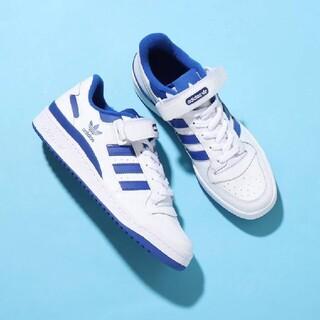 adidas - 新品 ADIDAS FORUM LOW アディダス フォーラム ロー Blue