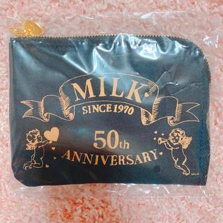 ミルク(MILK)のMILK ノベルティ ティッシュケース ポーチ ブラック(ポーチ)