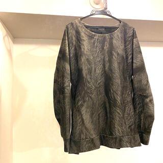 トルネードマート(TORNADO MART)のトルネードマート  メンズトップス フリーサイズ グレー ビックシルエット(Tシャツ/カットソー(七分/長袖))