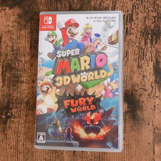 ニンテンドースイッチ(Nintendo Switch)の【keiko様専用】スーパーマリオ 3Dワールド + フューリーワールド(家庭用ゲームソフト)