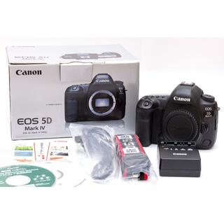 Canon - 【美品】Canon eos5DMark4 EOS 5D mark IV ボディ