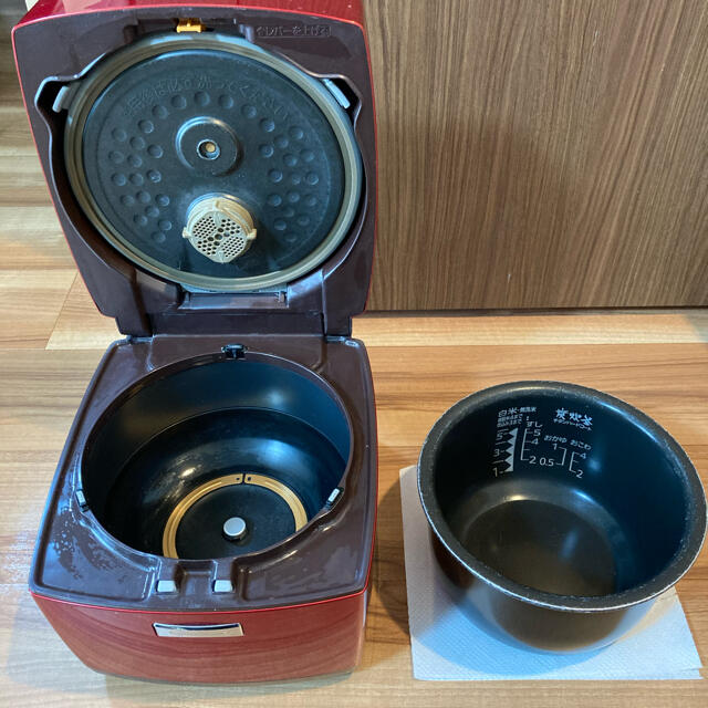 三菱(ミツビシ)の【送料無料】三菱 炊飯器 NJ-VX101 スマホ/家電/カメラの調理家電(炊飯器)の商品写真